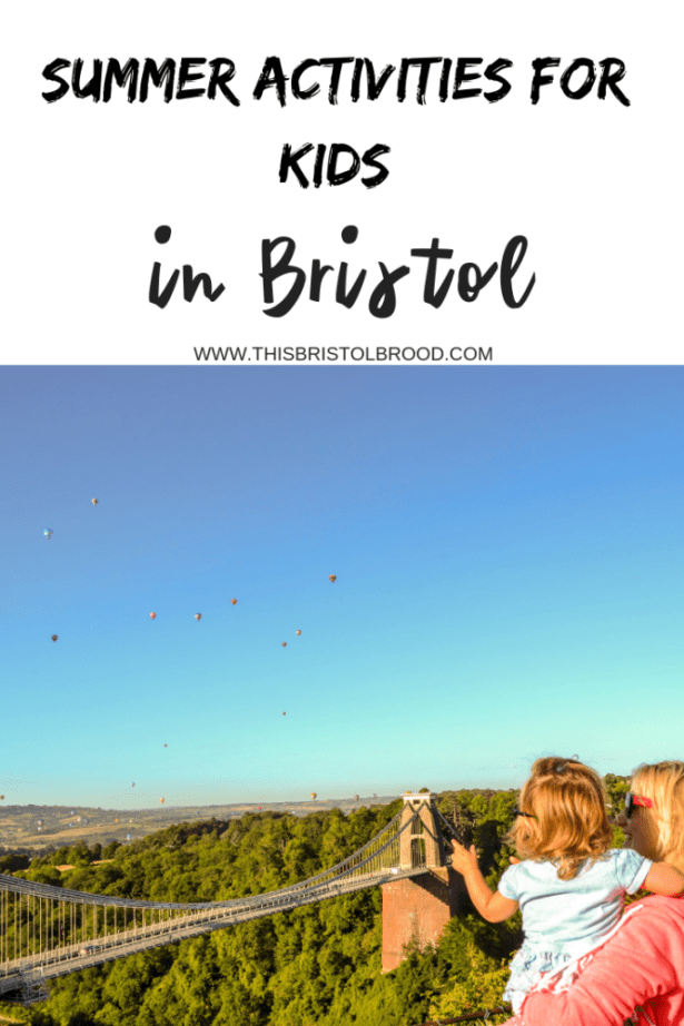 Summer activities for kids in Bristol
