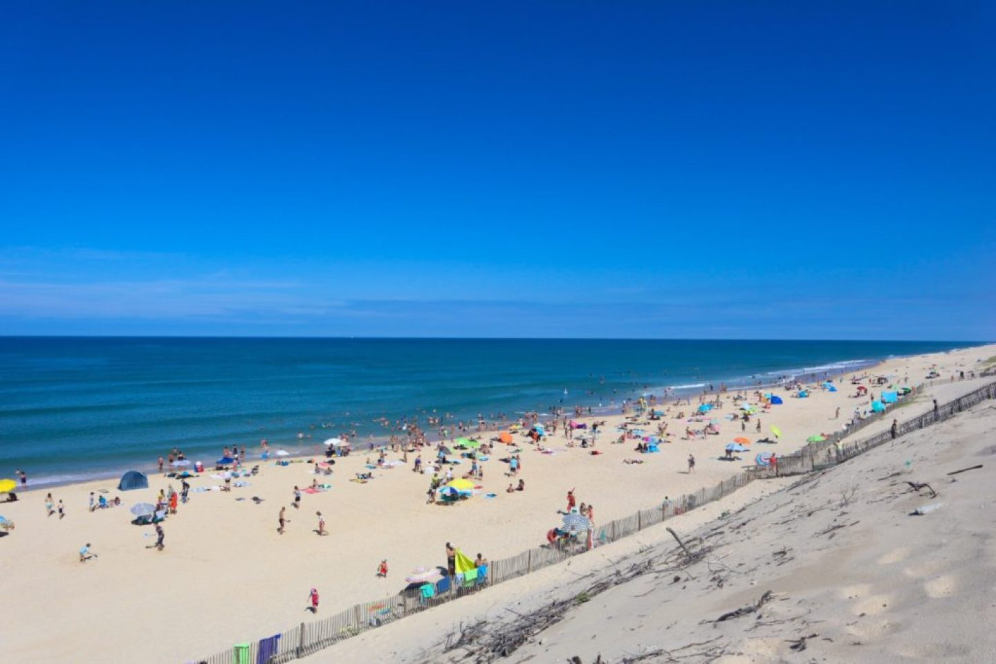 Hourtin Plage beach, Aquitaine, South west France