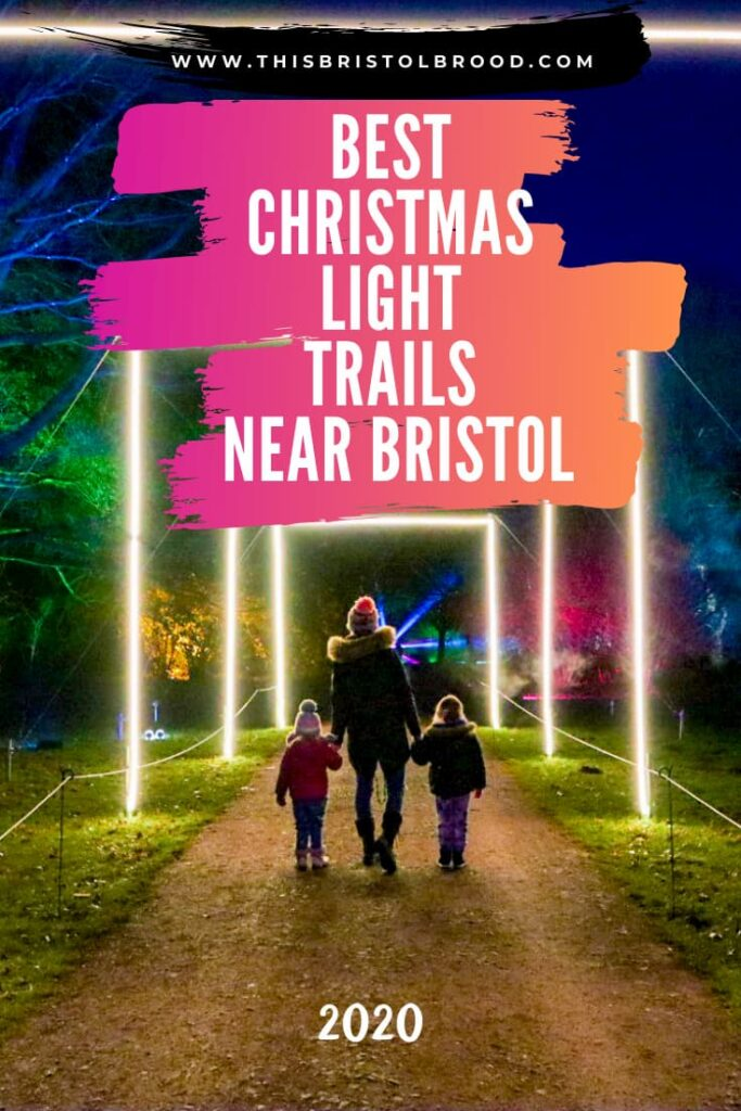 Best Christmas Light Trails near Bristol