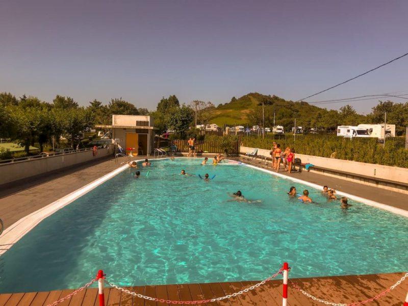 camping bungalows san sebastian - swimming pool