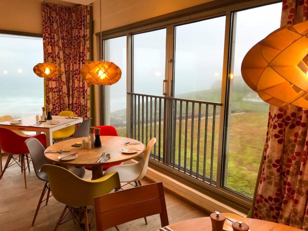 Wild Cafe Bedruthan hotel