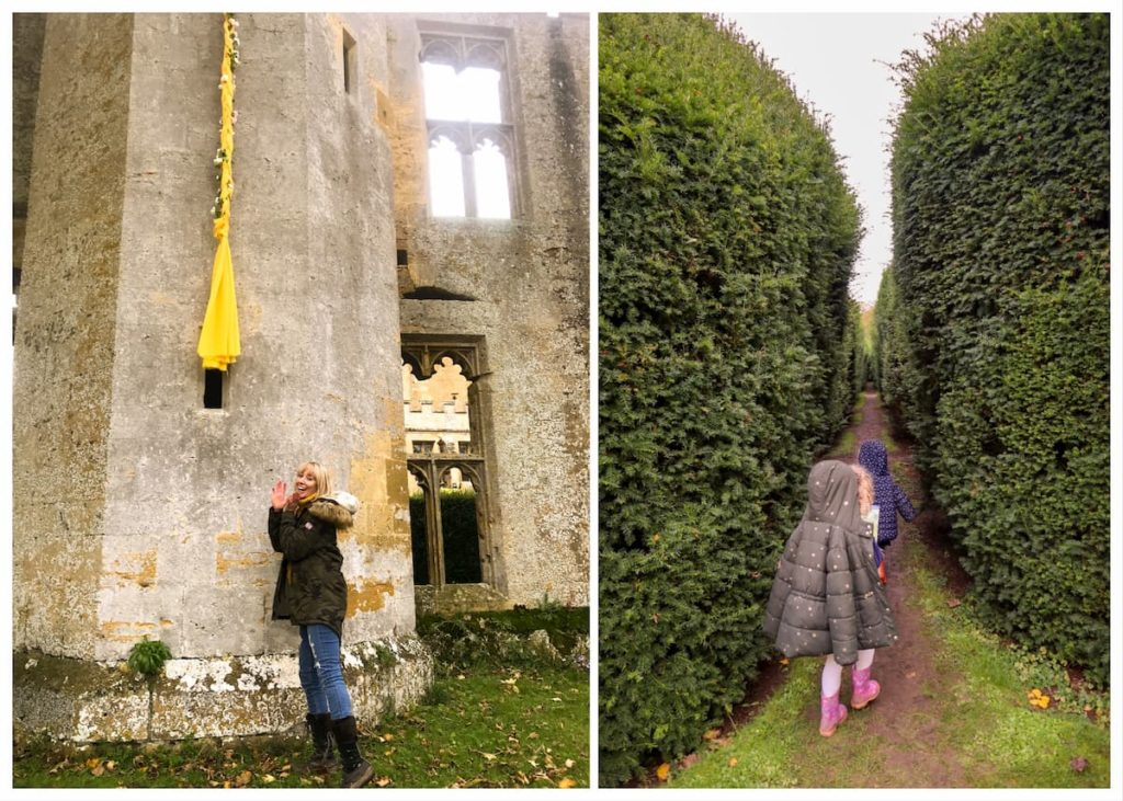 Rapunzels tower at Sudeley castle