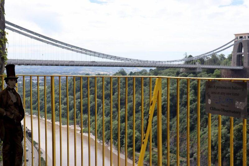Brunel and Clifton Suspension Bridge, Bristol