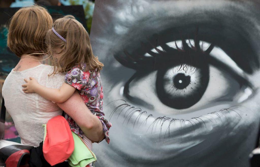 Upfest street art festival Bristol