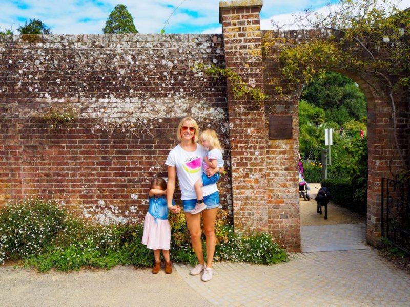 Upton Country Park garden wall