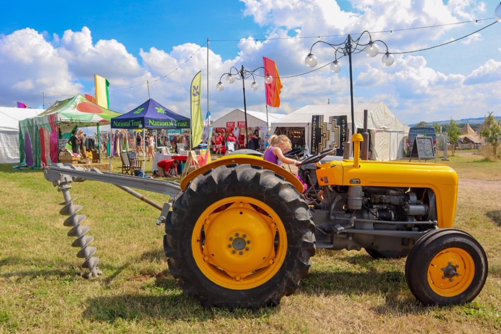 Valley Fest, Chew Magna, Tractor