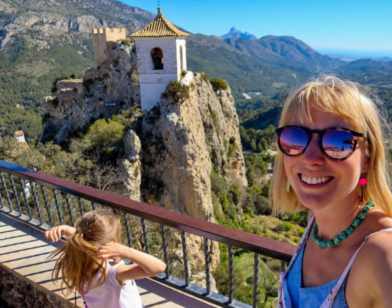 Guadalest bell tower, Spain