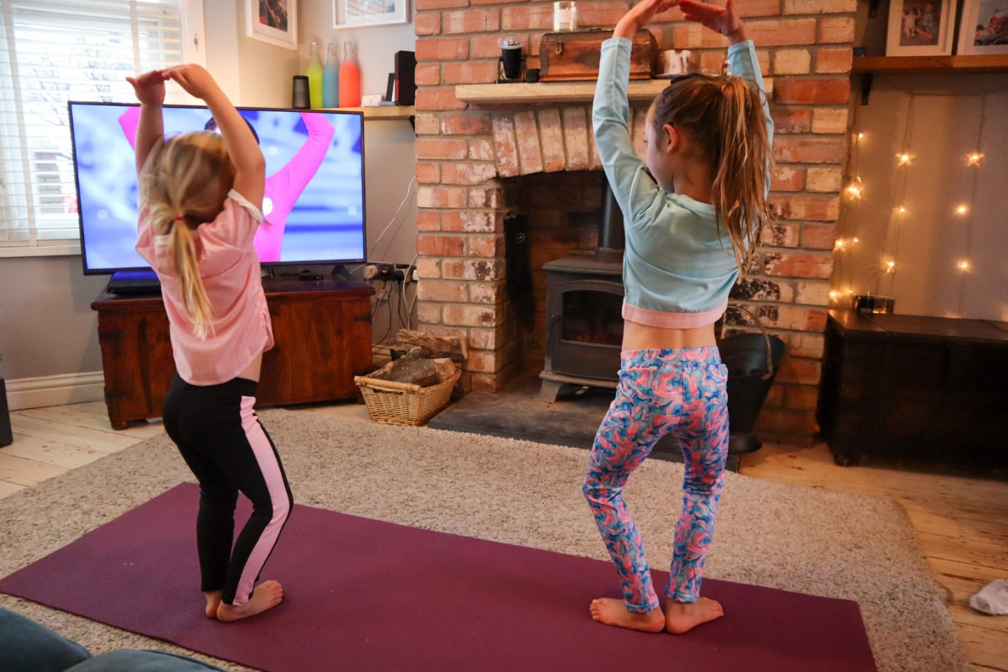 Cosmic kids yoga Youtube home workout