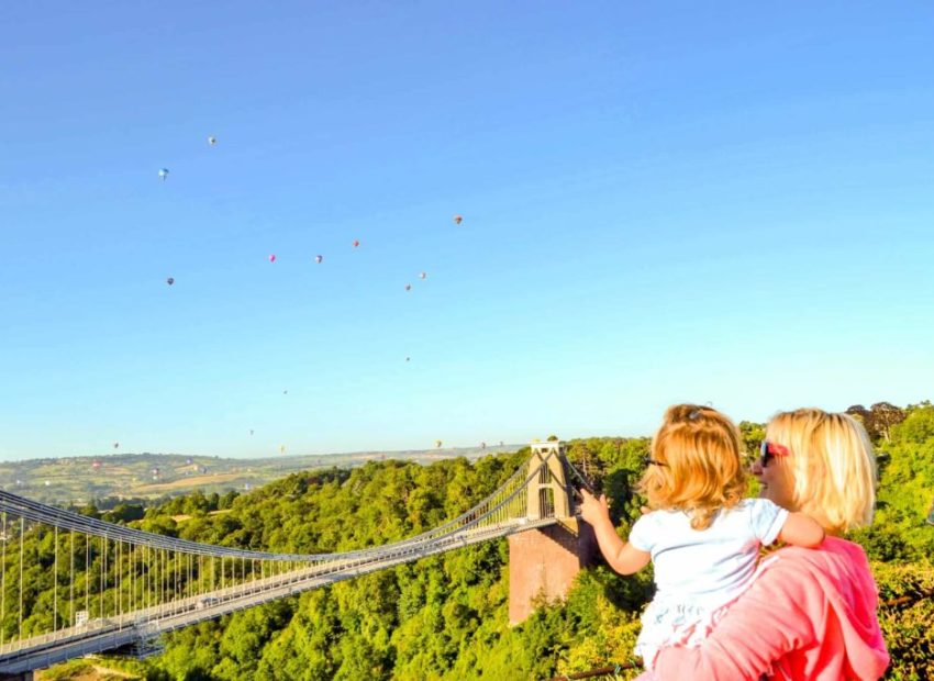 Clifton Suspension Bridge - Bristol with kids