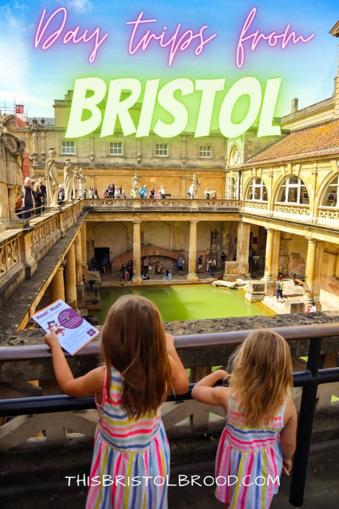 Day trips from Bristol within one hour's drive of the city