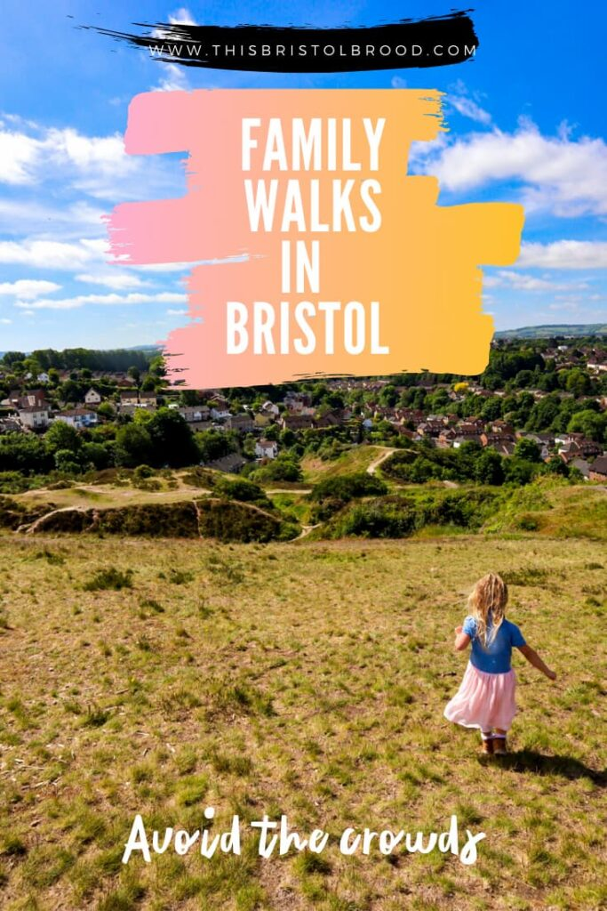 Family walks in Bristol to avoid the crowds