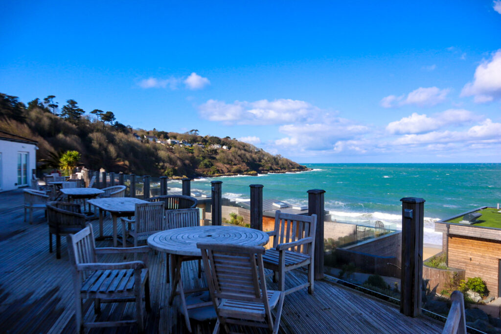 Terrace Carbis Bay hotel and spa, Cornwall