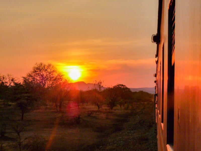 Train ride Tanzania