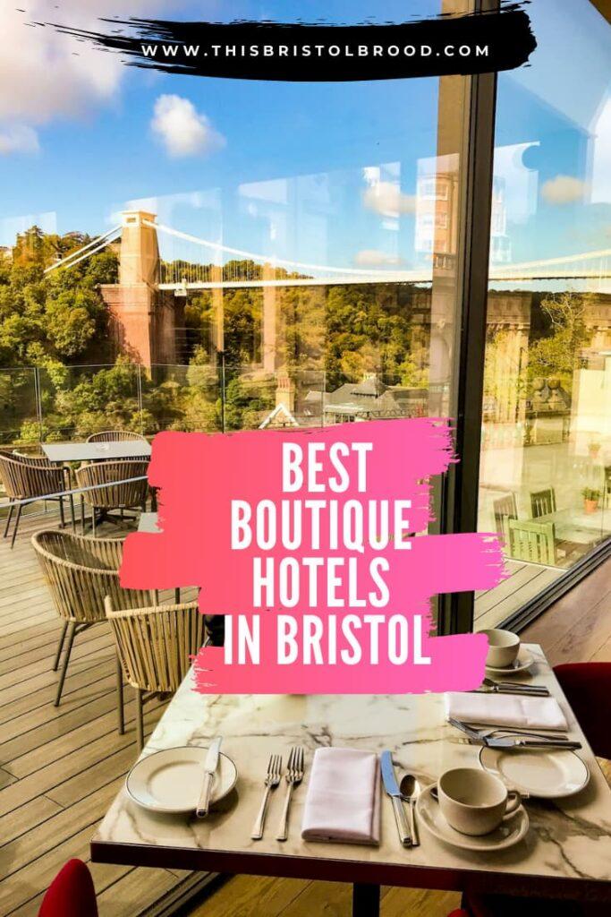 Best boutique hotels in Bristol