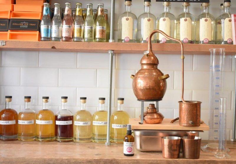 Psychopomp gin distillery, Bristol