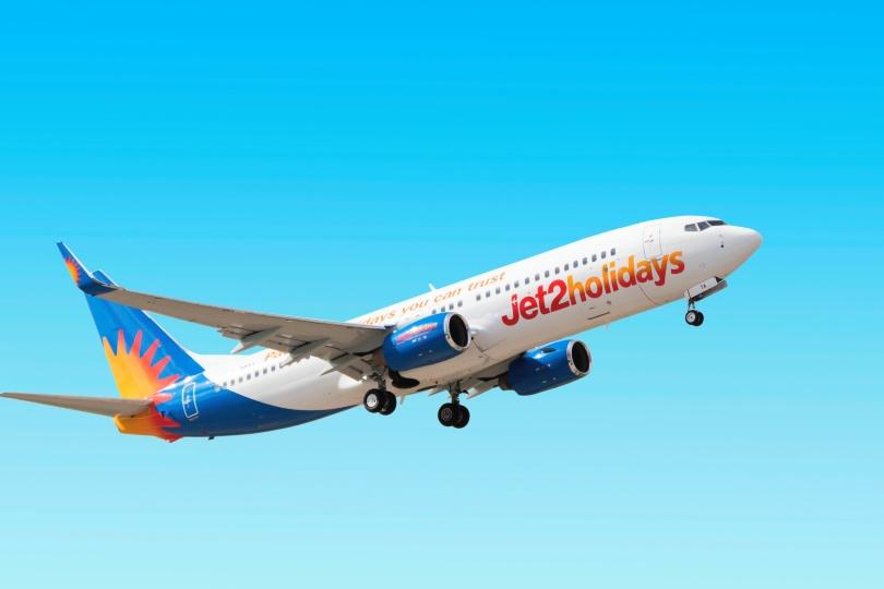 Jet2 holidays aeroplane