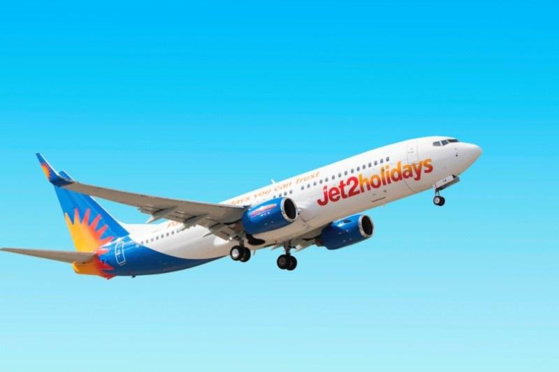 Jet2holidays aeroplane