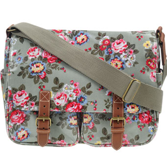 Cath Kidston. The waxed cotton is really hardwearing and resists almost anything.