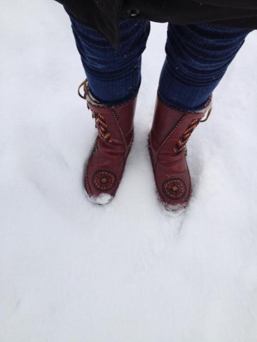 Brown Yeti Boots
