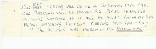 Happy Helper's Club Password