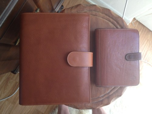With Mulberry Agenda in Oak