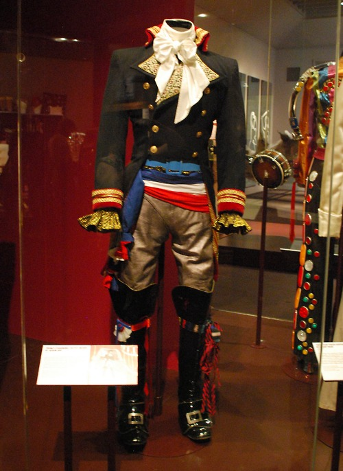 Adam Ant from an earlier V and A exhibition