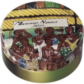 African themed tin