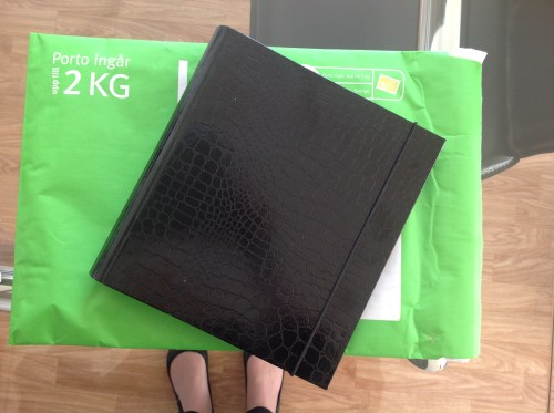 The A5 black Ordning och Reda binder goes to Caroline for The Lifestyle Project