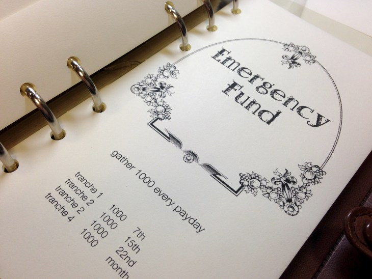 19 TBL setup envelope emergency