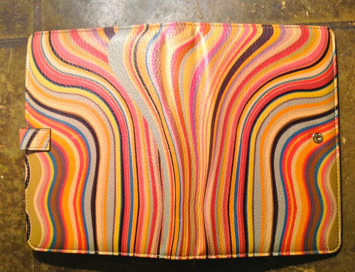 Super Soft Leather with lovely vibrant swirls