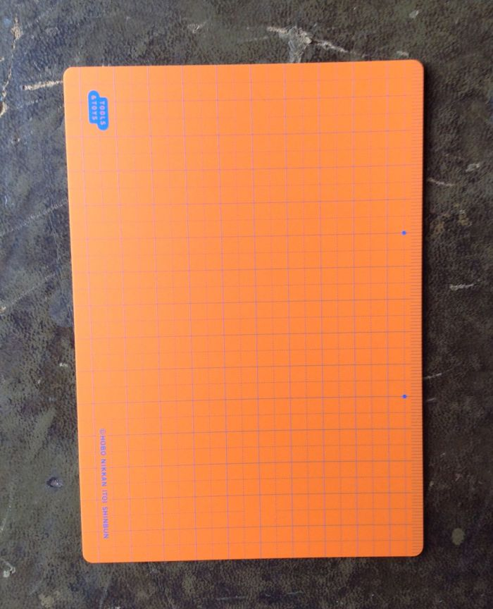 This is a Hobonichi pencil board and is A6 size.