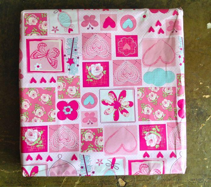 Beautifully wrapped. Thank you Nati!