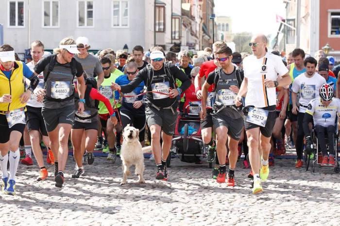 Running a marathon for charity