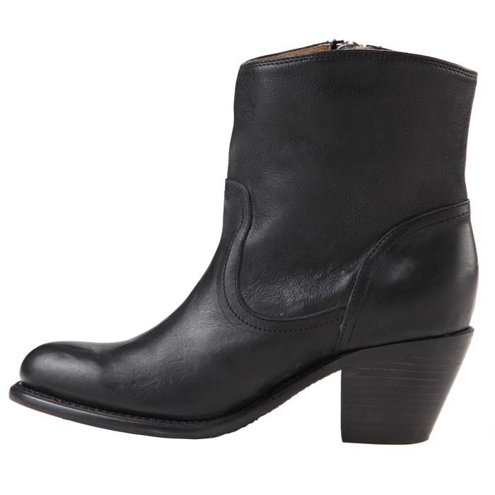 frye-leslie-zip-bootie-women-s-black-left-side