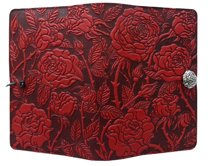 journals-oberon-refillable-leather-journal-wild-rose-red-2
