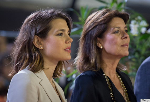 MONTE-CARLO, MONACO - JUNE 28:  Charlotte Casiraghi and her mother Princess Caroline of Hanover attend the podium ceremony for the Pro-Am at the Longines Global Champions Tour of Monaco 2013 on June 28, 2013 in Monte-Carlo, Monaco.  (Photo by Didier Baverel/WireImage)