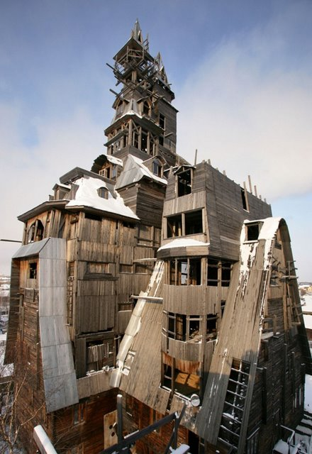 Wooden Gagster House (Archangelsk, Russia)