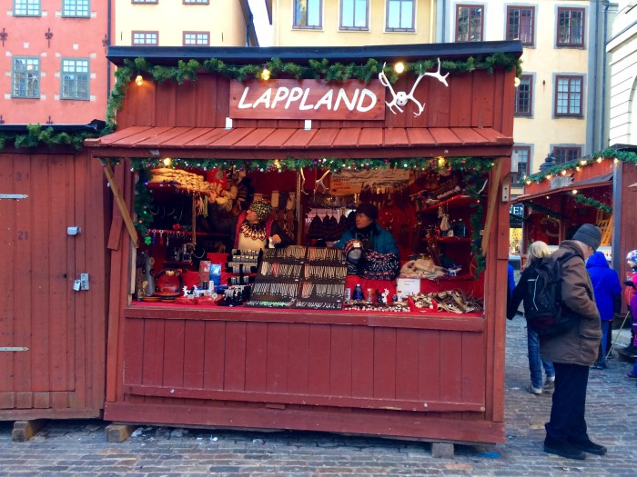 This store is lovely - the craftsmen come from Lapland and make beautiful traditional items.