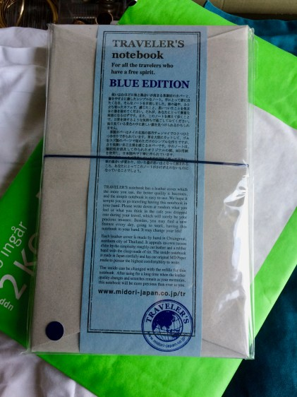 This limited Blue Edition Midori is heading to the US as I write this, towards its lovely new owner!