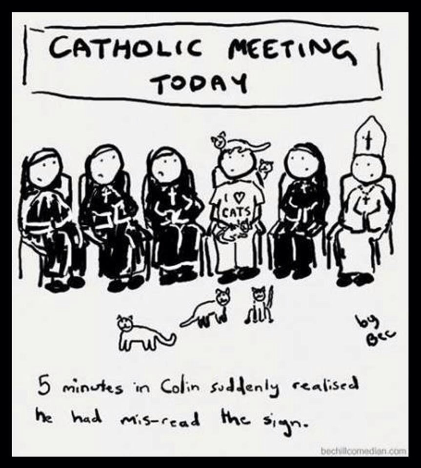 For Catholic Cat Lovers!