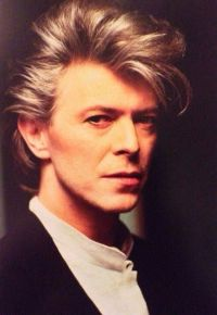 David Bowies spectacular hair!  Janet Carr