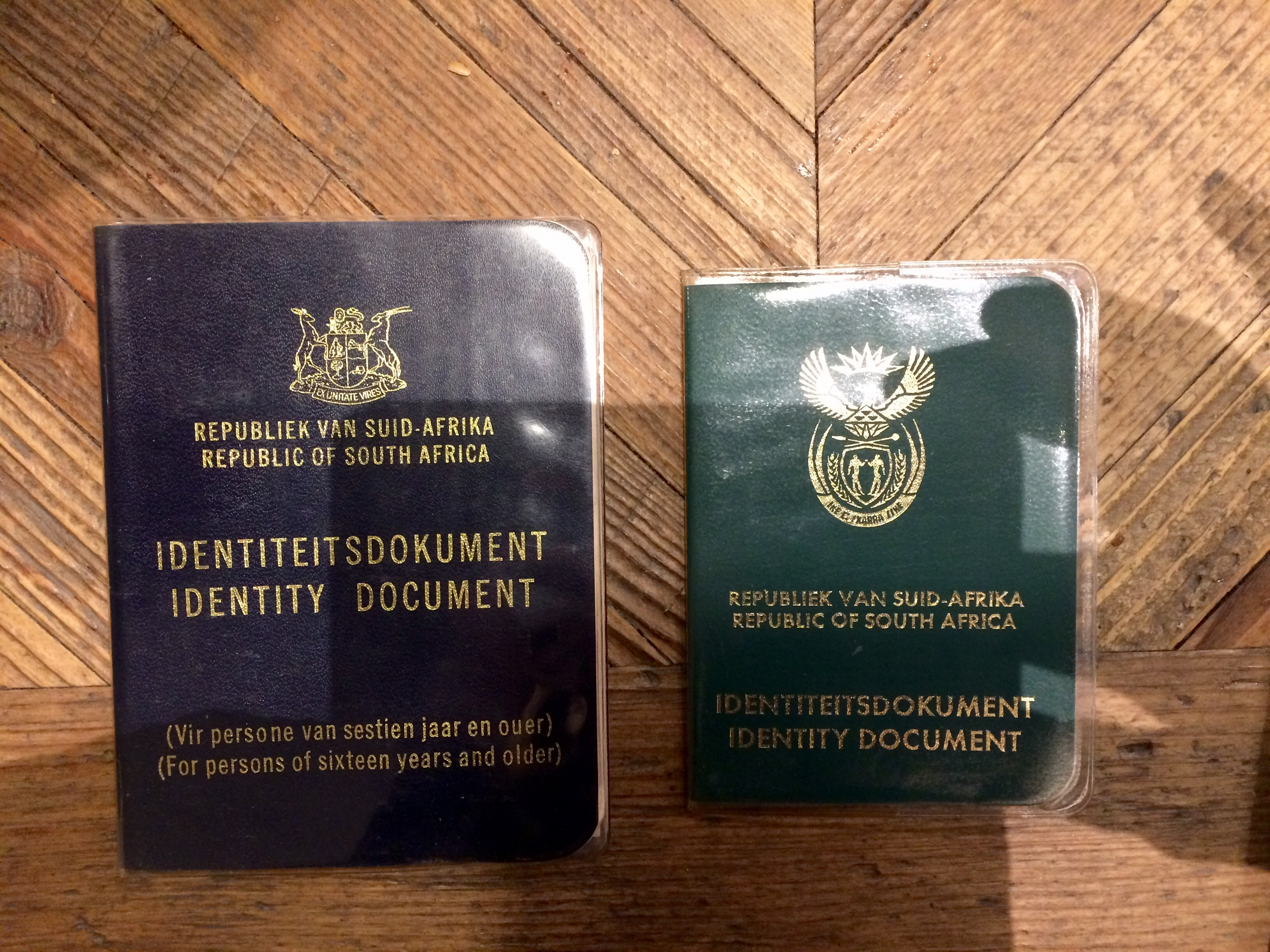 Apartheid Era Identity Numbers In South Africa Janet Carr