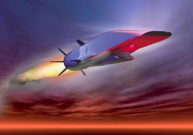 A new 'missile gap' and a new arms race are underway, this time over hyper-speed nuke-tipped cruise missiles (government image)