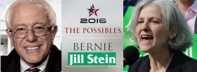 A Sanders/Stein Green Party presidential ticket could win, and could institutionalize Bernie's 'political revollution'