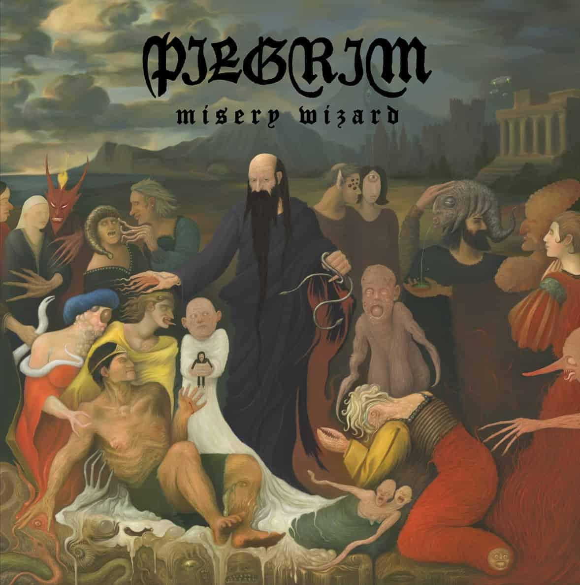 Pilgrim - Misery Wizard Cover