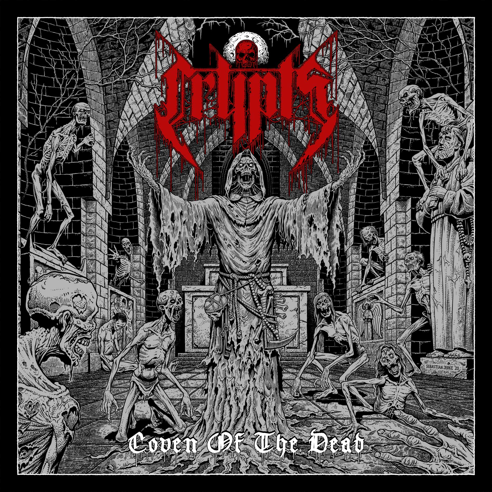 Crypts Coven Of The Dead Cover