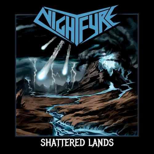 NightFyre Shattered Lands EP cover