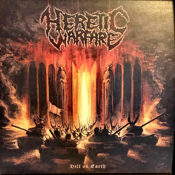 Heretic Warfare Hell Cover