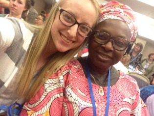 Missions conference: Lady from Africa