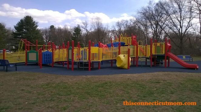Enfield Rotary - Large Playscape Full View